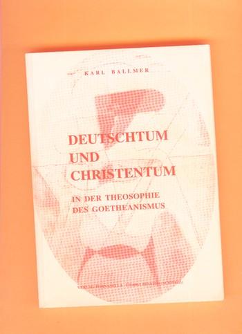 Cover: Ballmer, Deutschtum und Christentum