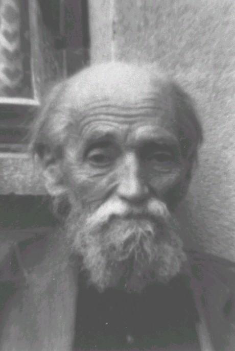 Hans Gessner im Sommer 1985