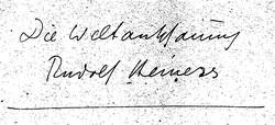 Mappenaufschrift