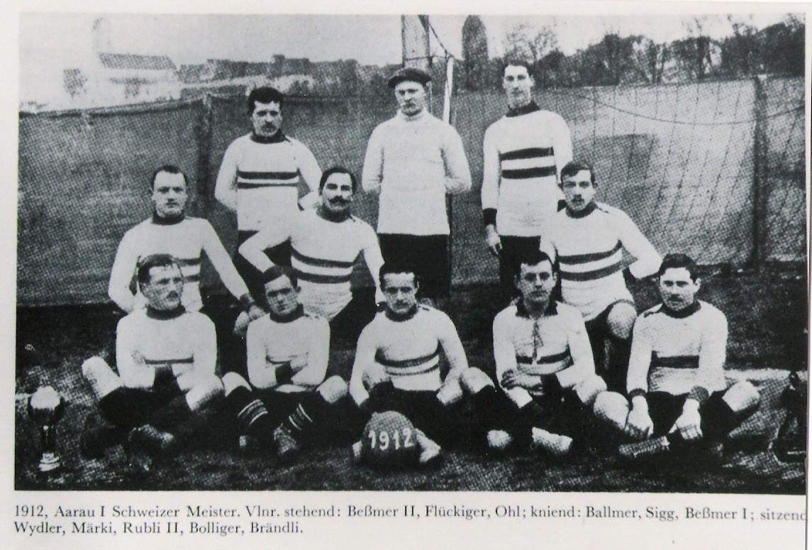 FC Aarau Schweizer Meister 1912